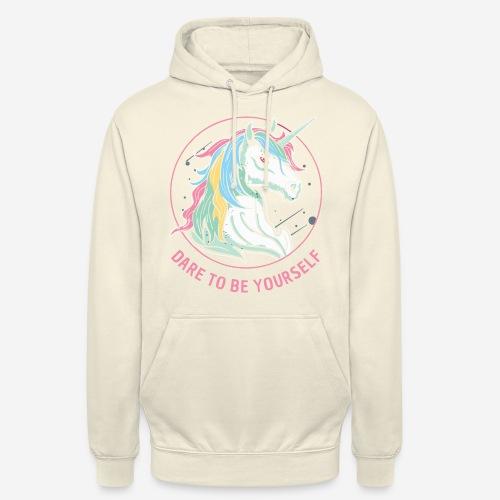 unicorn dare utopia - Unisex Hoodie