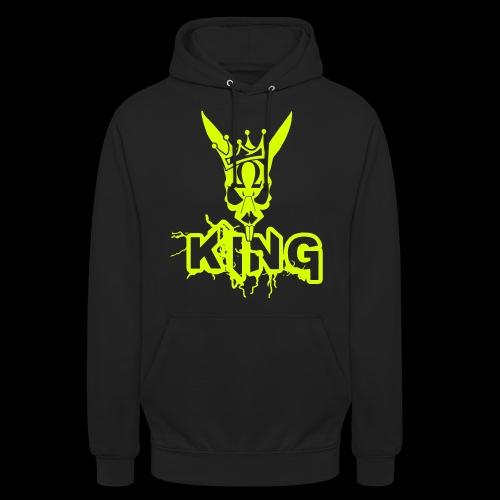 King Rabbit - Felpa con cappuccio unisex