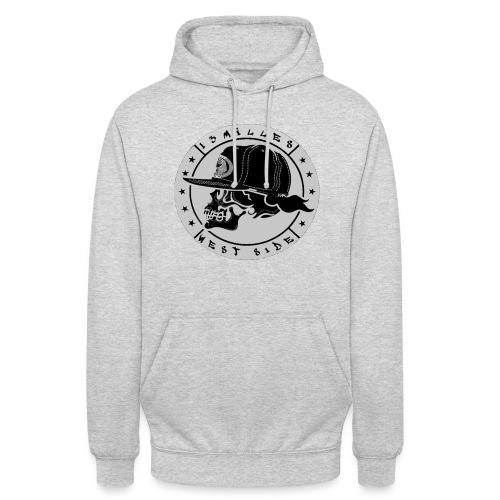 skull 13 milles noir et gris super design - Sweat-shirt à capuche unisexe