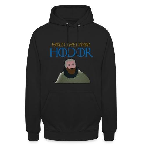 hodor3 png - Unisex Hoodie