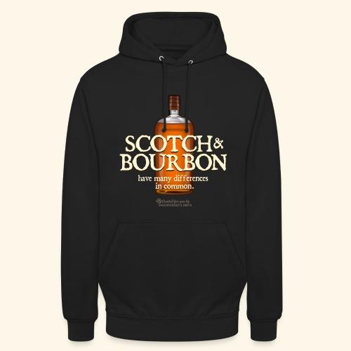 Whisky Spruch Scotch & Bourbon - Unisex Hoodie
