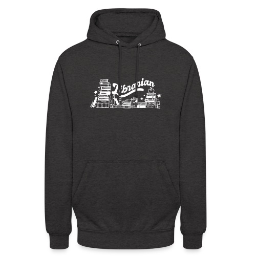 0323 Funny design Librarian Librarian - Unisex Hoodie