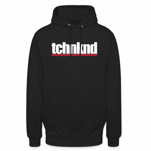 tchnknd minimal Technokind hard Rave Festivals DJs - Unisex Hoodie