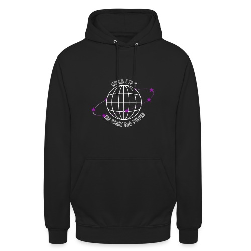 Where I Live The Stars Are Purple - Unisex Hoodie