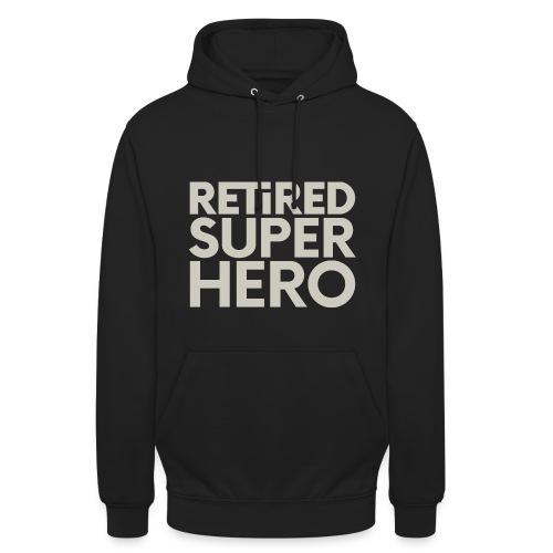 retired superhero - Unisex Hoodie