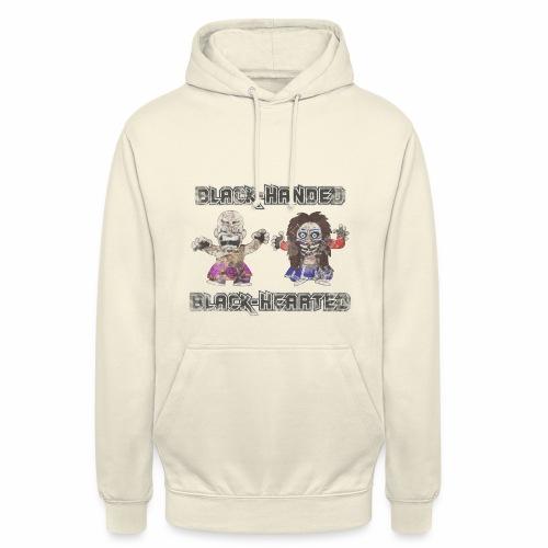 Black-Handed, Black-Hearted - Unisex Hoodie