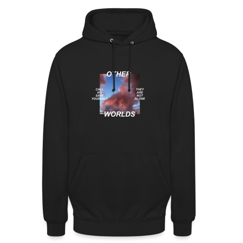 OTHER WORLDS png - Sweat-shirt à capuche unisexe
