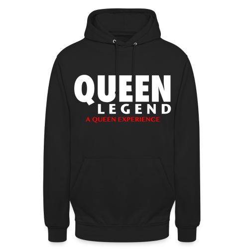 Queen Legend Name - Felpa con cappuccio unisex
