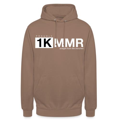 1k mmr black - Unisex Hoodie
