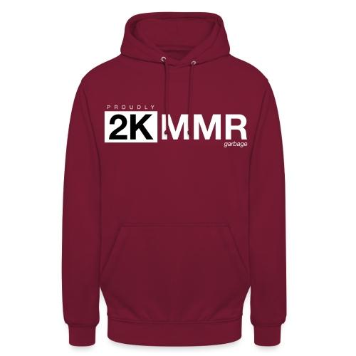 2k mmr black - Unisex Hoodie