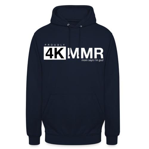 4k mmr black - Unisex Hoodie