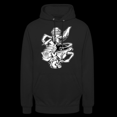The Real HipHop Elements - Unisex Hoodie