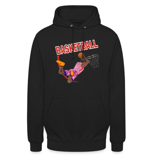 Basketball - Sweat-shirt à capuche unisexe
