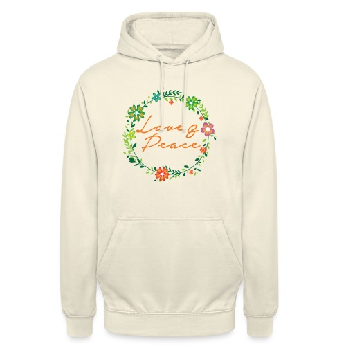 Love and Peace - Unisex Hoodie