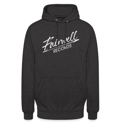 Fairwell Records - White Collection - Hættetrøje unisex