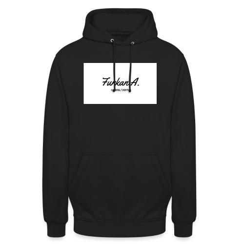 Furkan A - Zwarte sweater - Hoodie unisex
