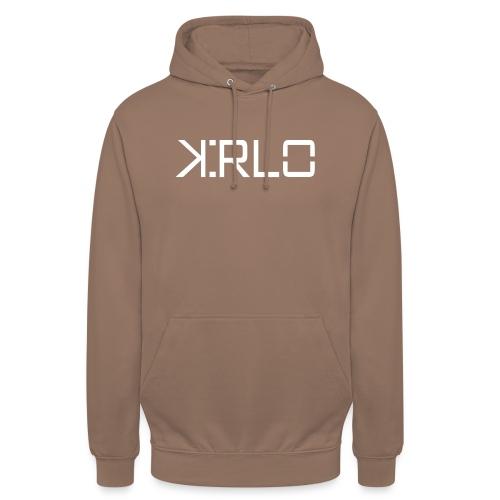 Kirlo Logo Blanco - Sudadera con capucha unisex