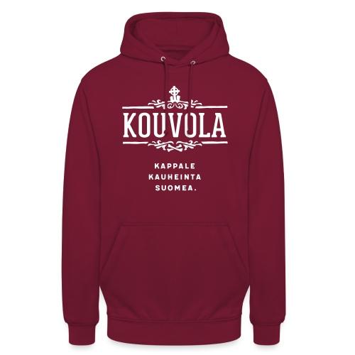 "Kouvola - Kappale kauheinta Suomea. - Huppari ""unisex"""