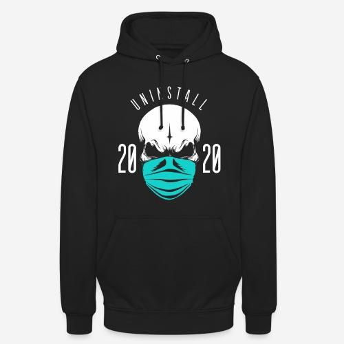 2020 deinstallieren - Unisex Hoodie