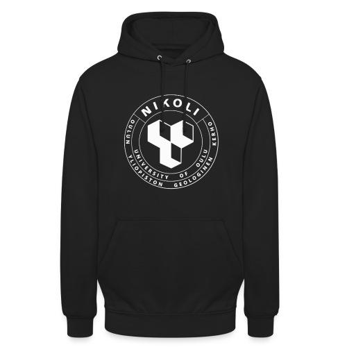 "Nikolin valkoinen logo - Huppari ""unisex"""