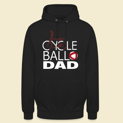 Radball | Cycle Ball Dad - Unisex Hoodie