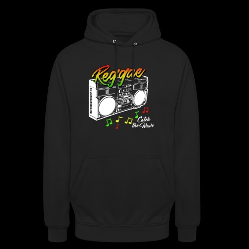 Reggae - Catch the Wave - Unisex Hoodie