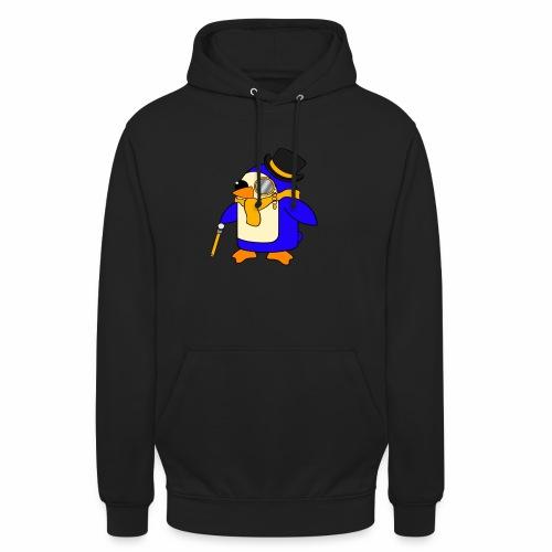 Cute Posh Sunny Yellow Penguin - Unisex Hoodie