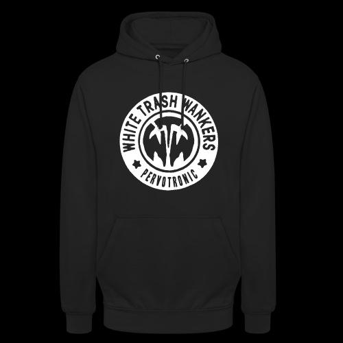 White Trash Wankers Pervotronic-Logo - Unisex Hoodie