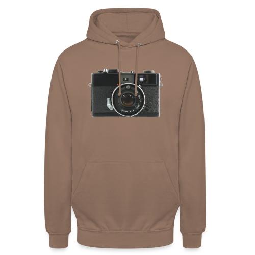 Vintage Camera Auto S3 - Felpa con cappuccio unisex
