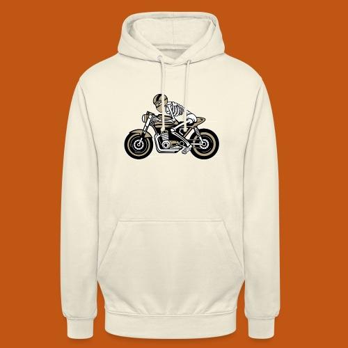 Cafe Racer Motorrad 05_dreifarbig - Unisex Hoodie