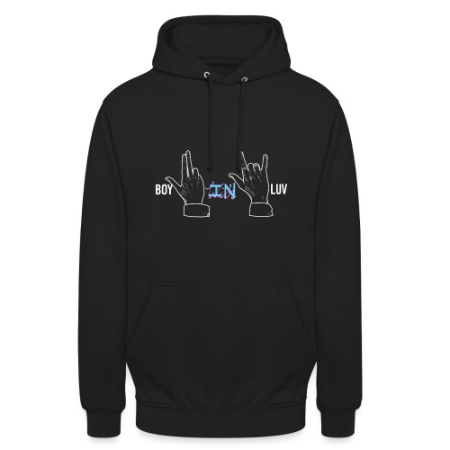 Boy In With Love V&JK - Unisex Hoodie