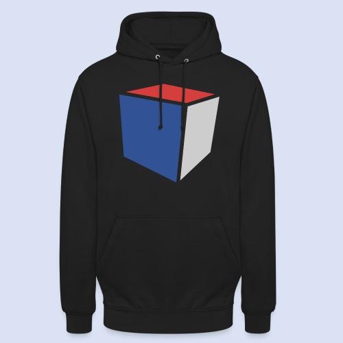 Cube Minimaliste - Sweat-shirt à capuche unisexe