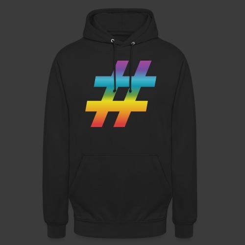 rainbow hash include - Unisex Hoodie
