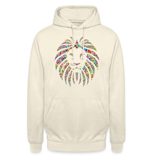 Ausdruck des Löwen - Unisex Hoodie
