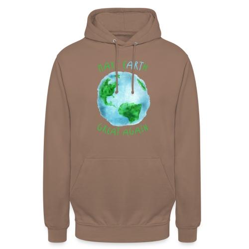 EARTH - Sudadera con capucha unisex