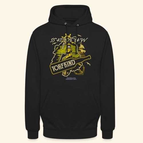 Whisky T Shirt Design Islay Single Malt Peat Torf - Unisex Hoodie