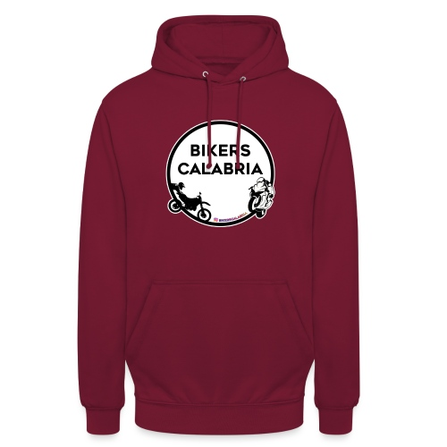 Logo con prodotto nero - Felpa con cappuccio unisex