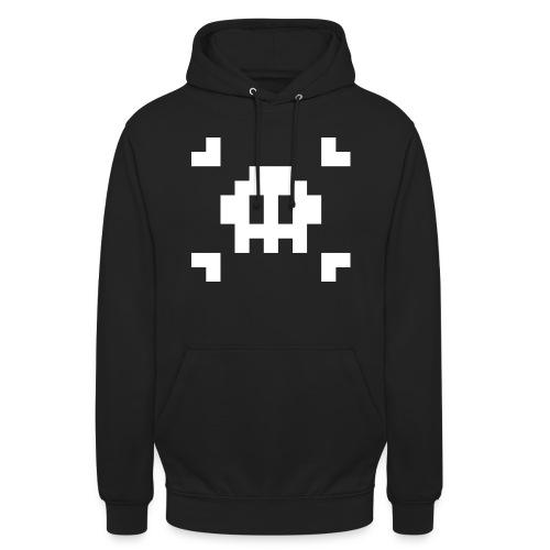 Pixel Skull - Sweat-shirt à capuche unisexe