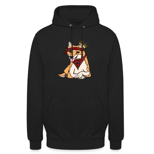Barney Grafik - rot - Unisex Hoodie