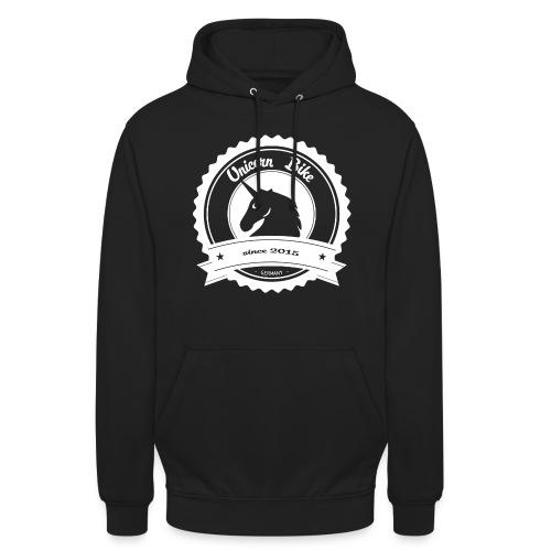 logo raw weiß 100 png - Unisex Hoodie