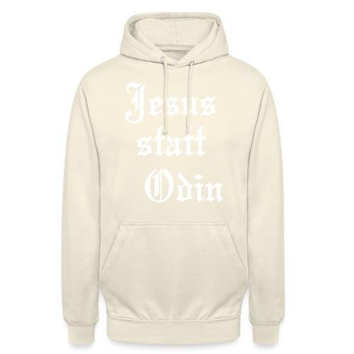Jesus statt Odin (JESUS-shirts) - Unisex Hoodie
