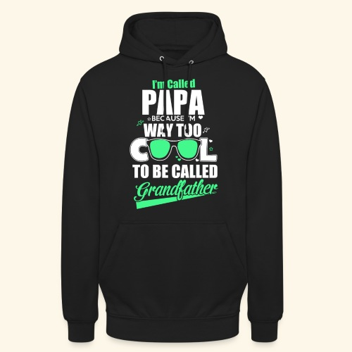 Cooles Papa Opa Grandfather T-Shirt Englisch - Unisex Hoodie