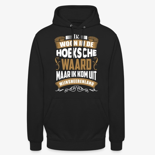 Mijnsheerenland - Hoodie unisex