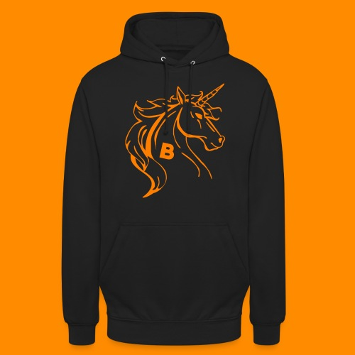 orange biodusty unicorn shirt - Hoodie unisex