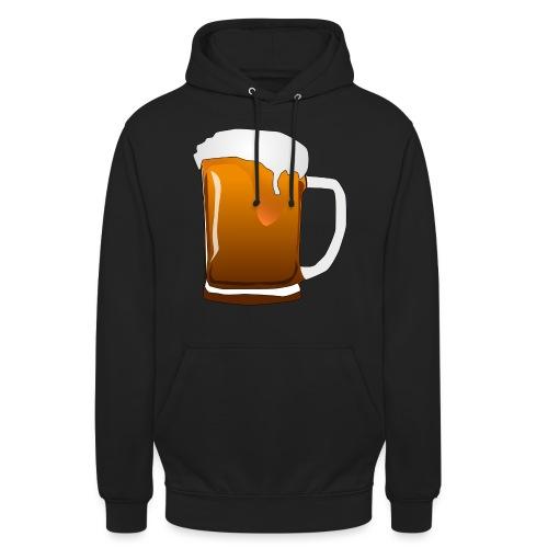 Cartoon Bier Geschenkidee Biermaß - Unisex Hoodie