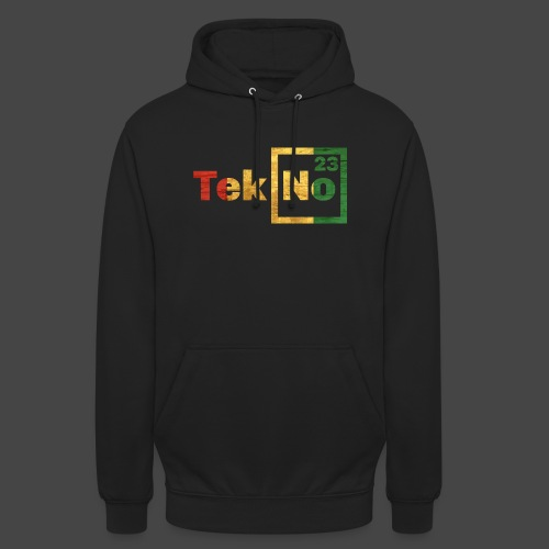 RYG TEKNO 23 - Sweat-shirt à capuche unisexe