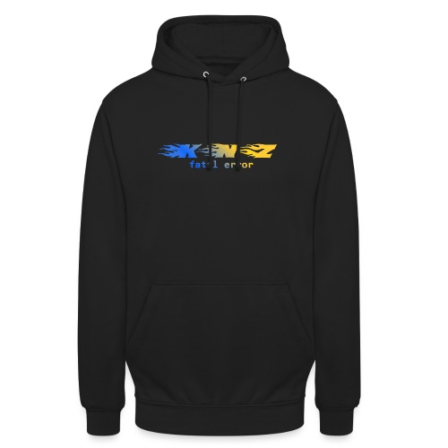 KNZ - Fatal Error Blue Version - Sweat-shirt à capuche unisexe
