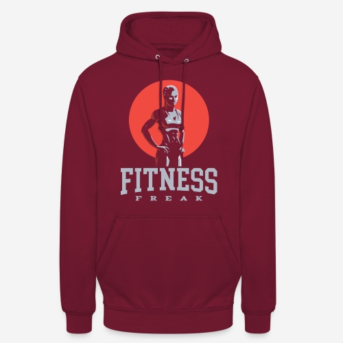 fitness freak gym - Unisex Hoodie