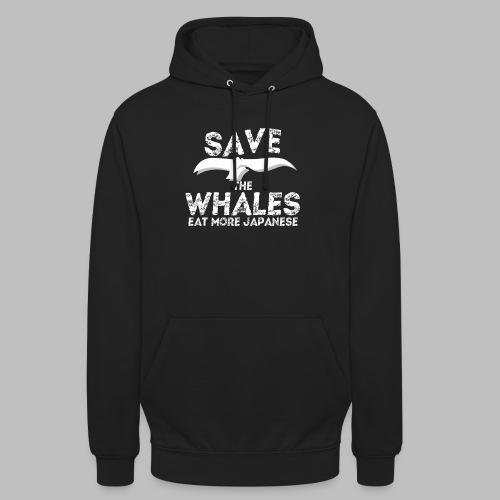 Rettet Wale esst mehr Japaner Geschenk - Unisex Hoodie