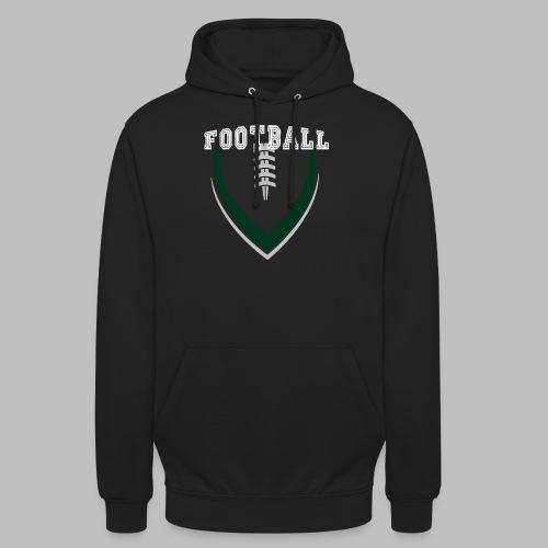 Football LOGO Ball American Football Geschenkidee - Unisex Hoodie